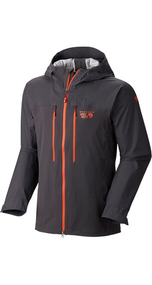 Mountain Hardwear M's Mixaction Jacket Shark/State Orange (015)